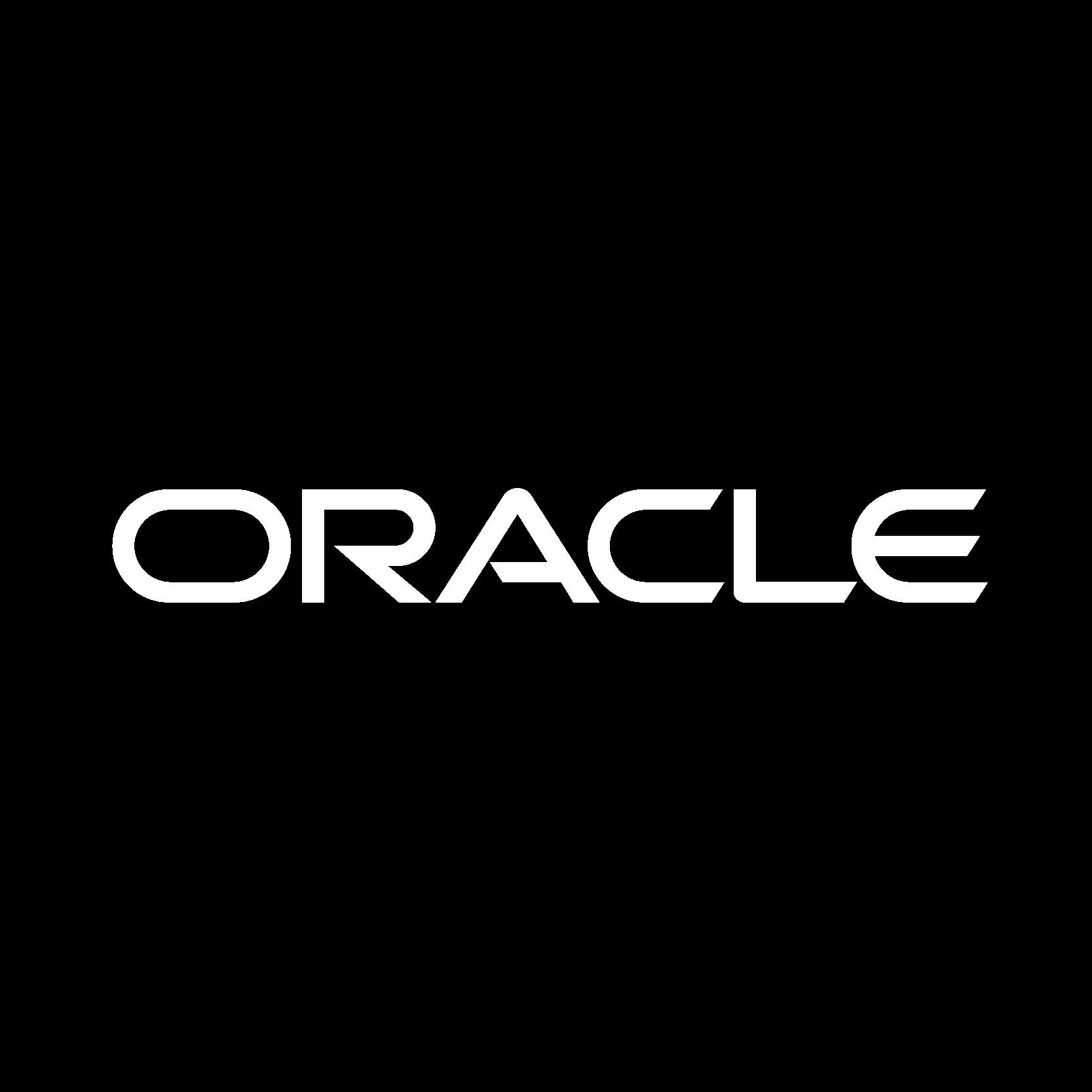 oracle Logo White