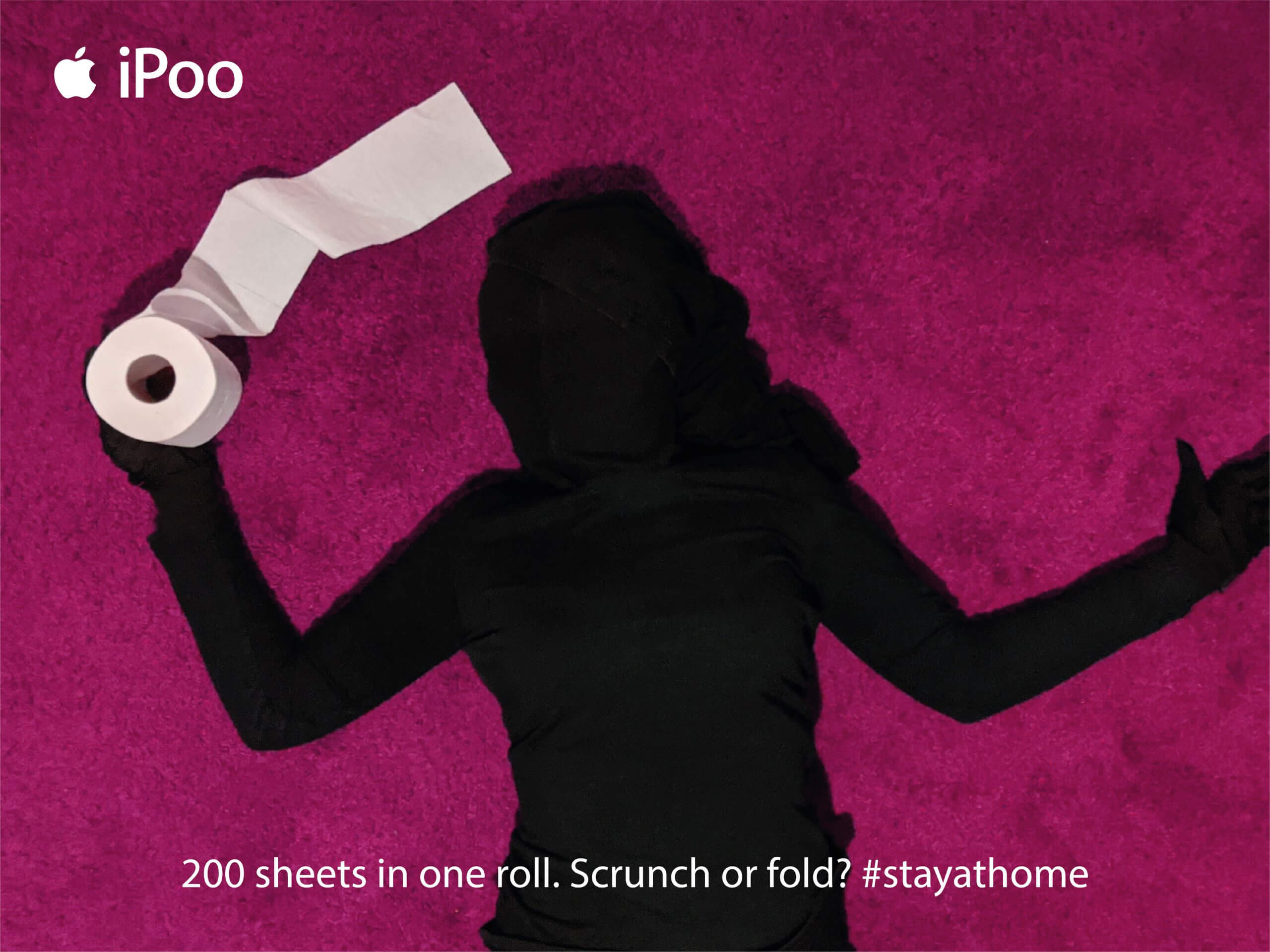 woman holding loo roll
