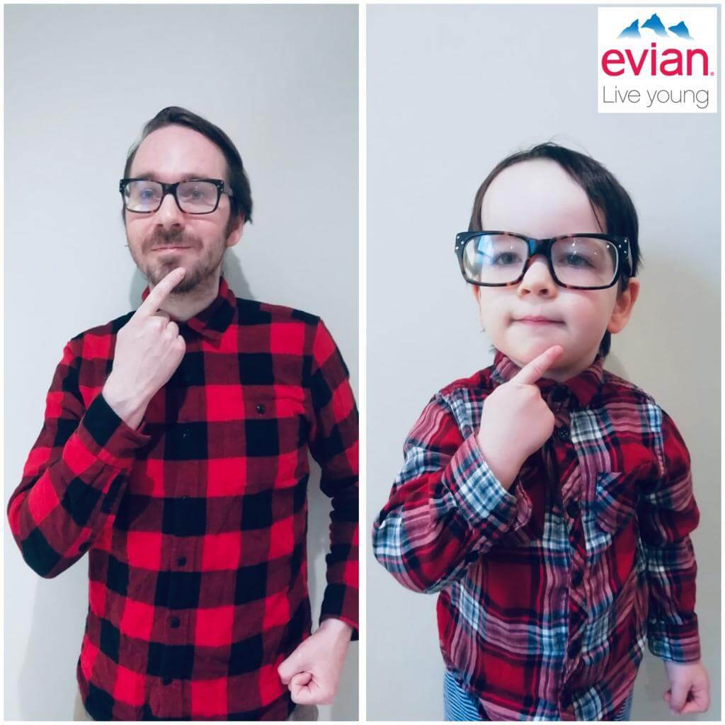 evian advert