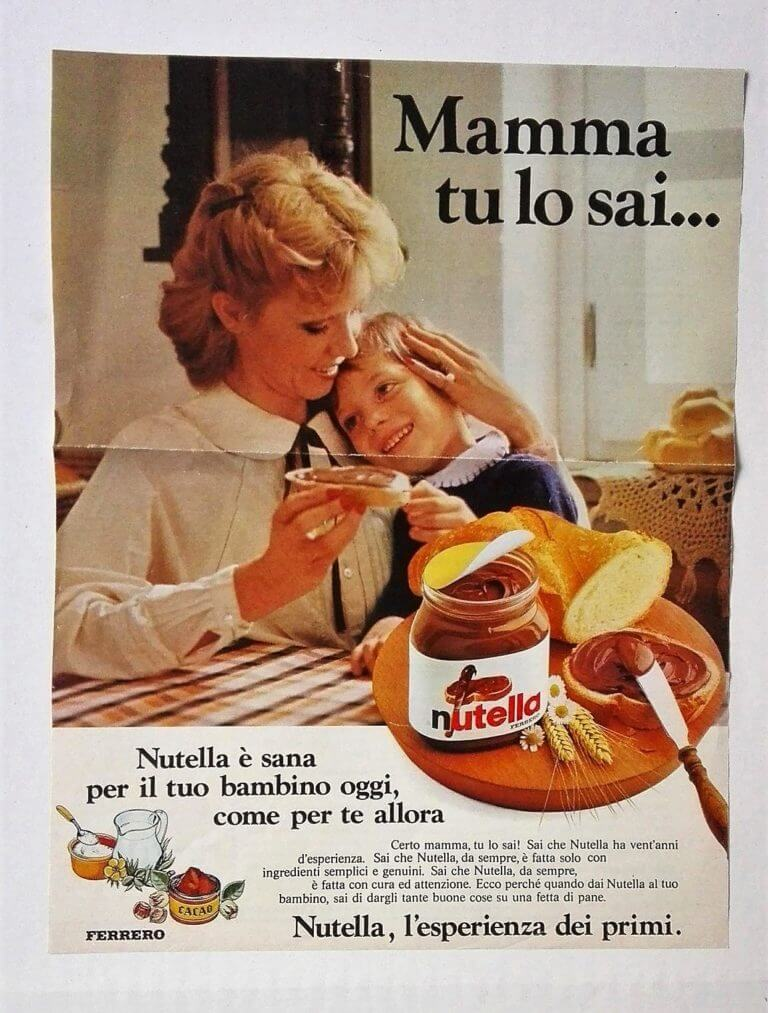 nutella advert